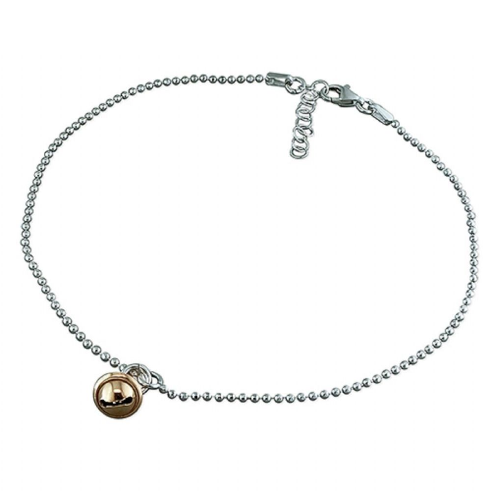 rose and original hearts gold product anklet rick by silver nest solid